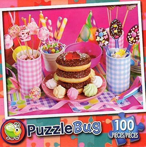 Happy Birthday - Puzzlebug 100 Piece Jigsaw Puzzle