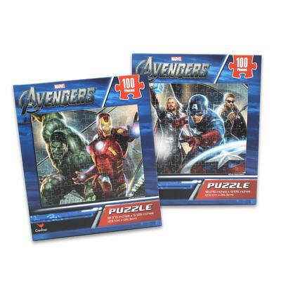 Avengers Puzzles for Kids: (2-pack) 100 Piece Avenger Heroes Jigsaw Puzzle