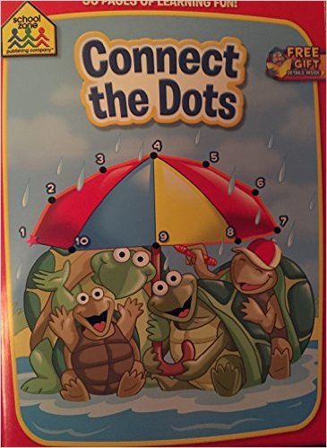 School Zone Connect the Dots. Activity book
