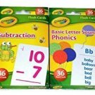 Crayola Bundle Flash Cards Fun Learning Early