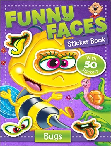 Funny Faces Sticker Book: Bugs (Funny Faces Sticker Books)
