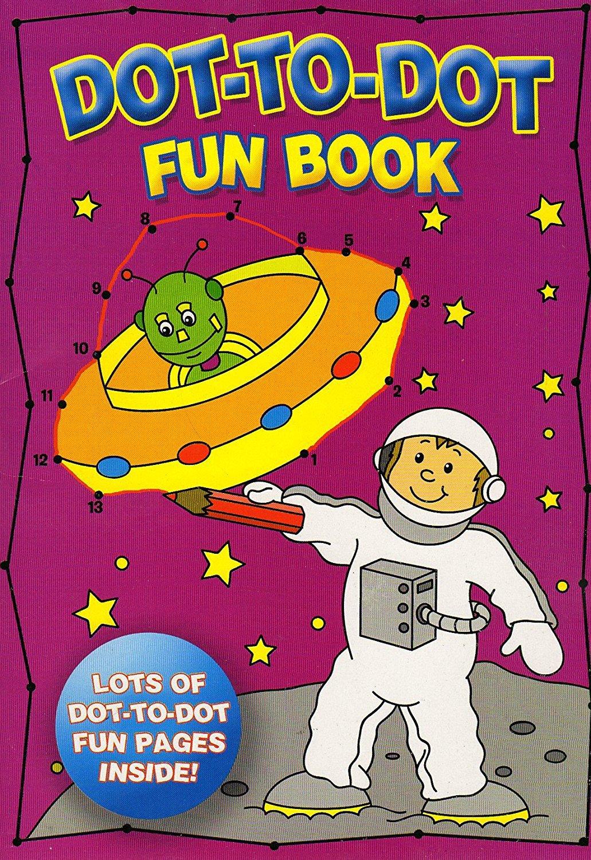 Dot-To-Dot fun book fun book - High Quality Pages - v3