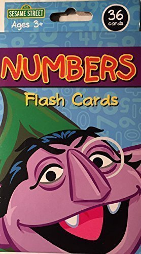 Sesame Street Numbers Flash Cards