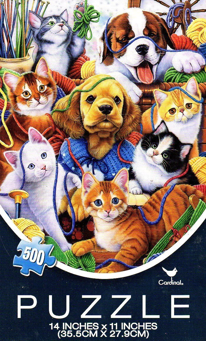 Artist Collection - 500 Piece Jigsaw Puzzle