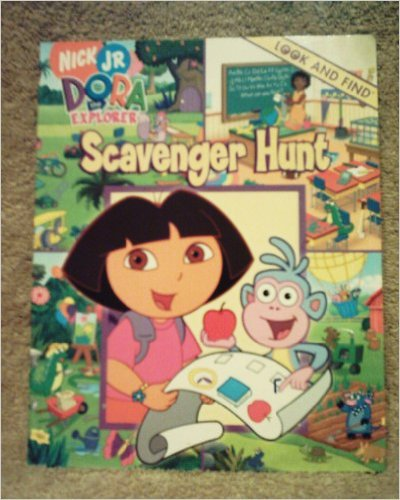 Dora the Explorer Scavenger Hunt (Look and Find). Book.