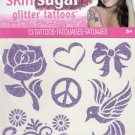 Skin Sugar - Glitter Temporary Tattoos - 13 Tattoos By Savvi - V1