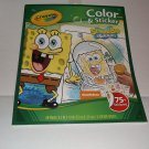 Crayola Spongebob Squarepants Color & Sticker Activity Book