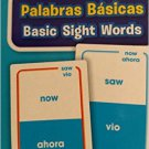 School Zone Bilingual Spanish English Basic Sight Words (Palabras Basicas) Flash Cards