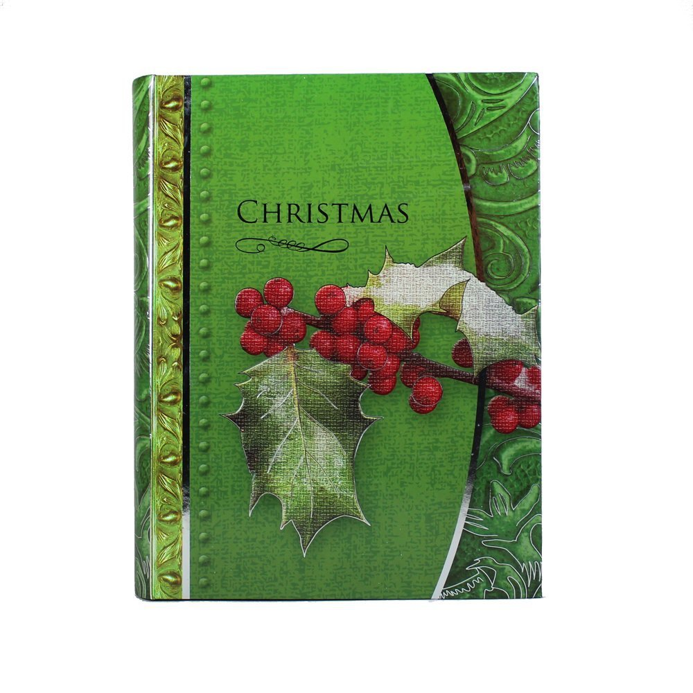 Luxury Christmas Cards in Keepsake Box (green)
