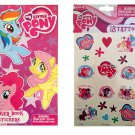 My Little Pony Sticker-book with Tattoos