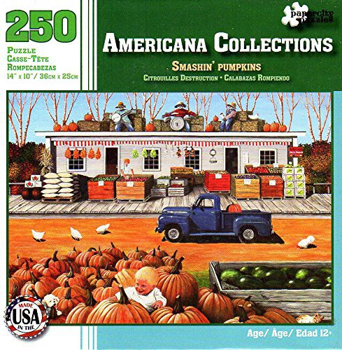 Smashin' Pumpkins - Americana Collections - 250 Piece Jigsaw Puzzle