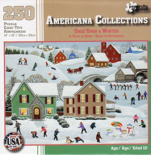 Once Upon a Winter - Americana Collections - 250 Piece Jigsaw Puzzle