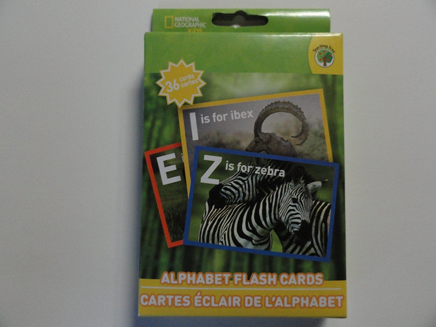 National Geographic Alphabet Flash Cards
