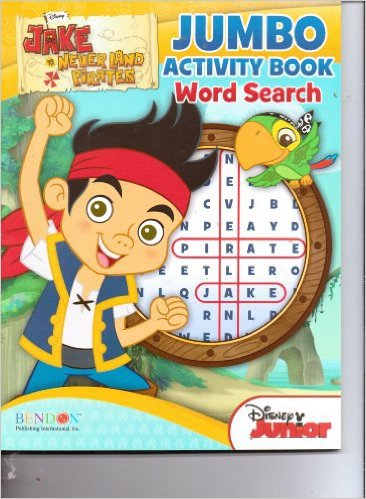Jake & the Never Land Pirates Jumbo Activity Book Word Search