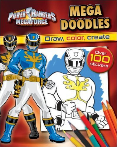 Mega Doodles. Coloring and Activity Book