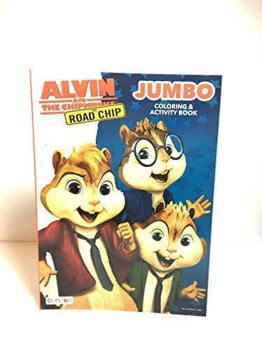 Alvin and the Chipmunks The Road Trip Jumbo Coloring & Activity