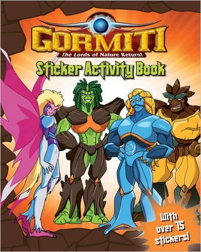 Gormiti: The Lords of Nature Return - Sticker Activity Book