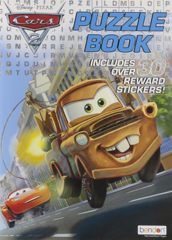 Disney Pixar Cars 2 Puzzle Book