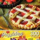 Strawberry Sweet Tart - Puzzlebug 300 Piece Jigsaw Puzzle