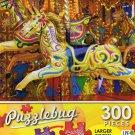 Golden Carousel Horse - Puzzlebug 300 Piece Jigsaw Puzzle