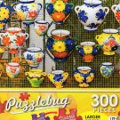 Colorful Ceramic Pots - Puzzlebug 300 Piece Jigsaw Puzzle