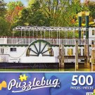 Old Fashioned Paddle Steam Boat - Puzzlebug 500 Piece jigsaw Puzzle