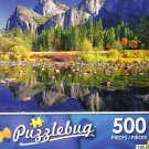View of Yosemite Park - Puzzlebug 500 Piece jigsaw Puzzle