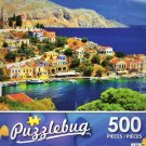 Picturesque Greece, Symi Island, Dodecanese - Puzzlebug 500 Piece jigsaw Puzzle