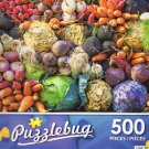 Colorful Vegetables at the Market - Puzzlebug 500 Piece jigsaw Puzzle