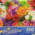 Colorful Bouquet - Puzzlebug 500 Piece jigsaw Puzzle