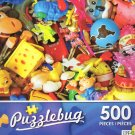 Colorful Little Toys - Puzzlebug 500 Piece jigsaw Puzzle