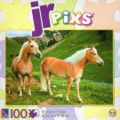 JR pixs - Haflinger Horses - 100 Piece Jigsaw Puzzle