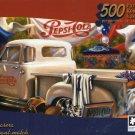 Pepsi-Cola Vintage  Puzzle Collection - Vending Cart - 500 Piece Jigsaw Puzzle