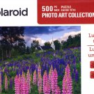 Lupines on the Hill - Polaroid Photo Art Collection - 500 Piece Jigsaw Puzzle