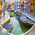 Rainbow Canal - 500 Piece Jigsaw Puzzle