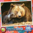 Mommy and Baby Bear  - Puzzlebug 100 Piece Jigsaw Puzzle