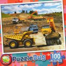 Construction Site  - Puzzlebug 100 Piece Jigsaw Puzzle