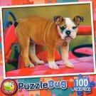Puppy Wagon  - Puzzlebug 100 Piece Jigsaw Puzzle