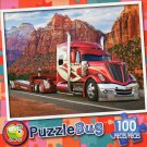 Big Red Rig - Puzzlebug 100 Piece Jigsaw Puzzle