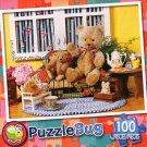 Teddy tea Time - Puzzlebug 100 Piece Jigsaw Puzzle