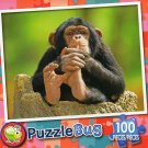 Comfy Chimp - Puzzlebug 100 Piece Jigsaw Puzzle
