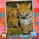 Mommy and Baby Leopard - Puzzlebug 100 Piece Jigsaw Puzzle