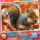 Squirrelly Squirrel - Puzzlebug 100 Piece Jigsaw Puzzle