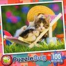 Lounging Around - Puzzlebug 100 Piece Jigsaw Puzzle
