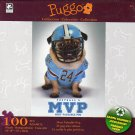 Football's MVP Most Valuable Pug  - Puggo Puzzle Collection - 100 Piece Jigsaw Puzzle