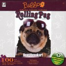 RollingPug Heatbreaker!  - Puggo Puzzle Collection - 100 Piece Jigsaw Puzzle