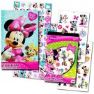Minnie Mouse Stickers & Tattoos Party Favor Pack (200 Stickers & 50 Temporary Tattoos) by Disney