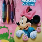 Disney Minnie Mouse & Friends - Pretty Petals - Easter Coloring & Activity Book - v2