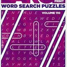 Large Print Word Search - (2017) - Vol.110. puzzle book