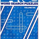Large Print Word Search - (2017) - Vol.108. puzzle book